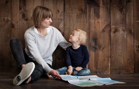 אומנות השיחה; לדבר עם הילד